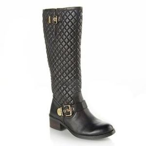 Vince Camuto Wenters Quilted Knee High Boots